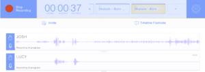Overview of the Zencastr recording platform