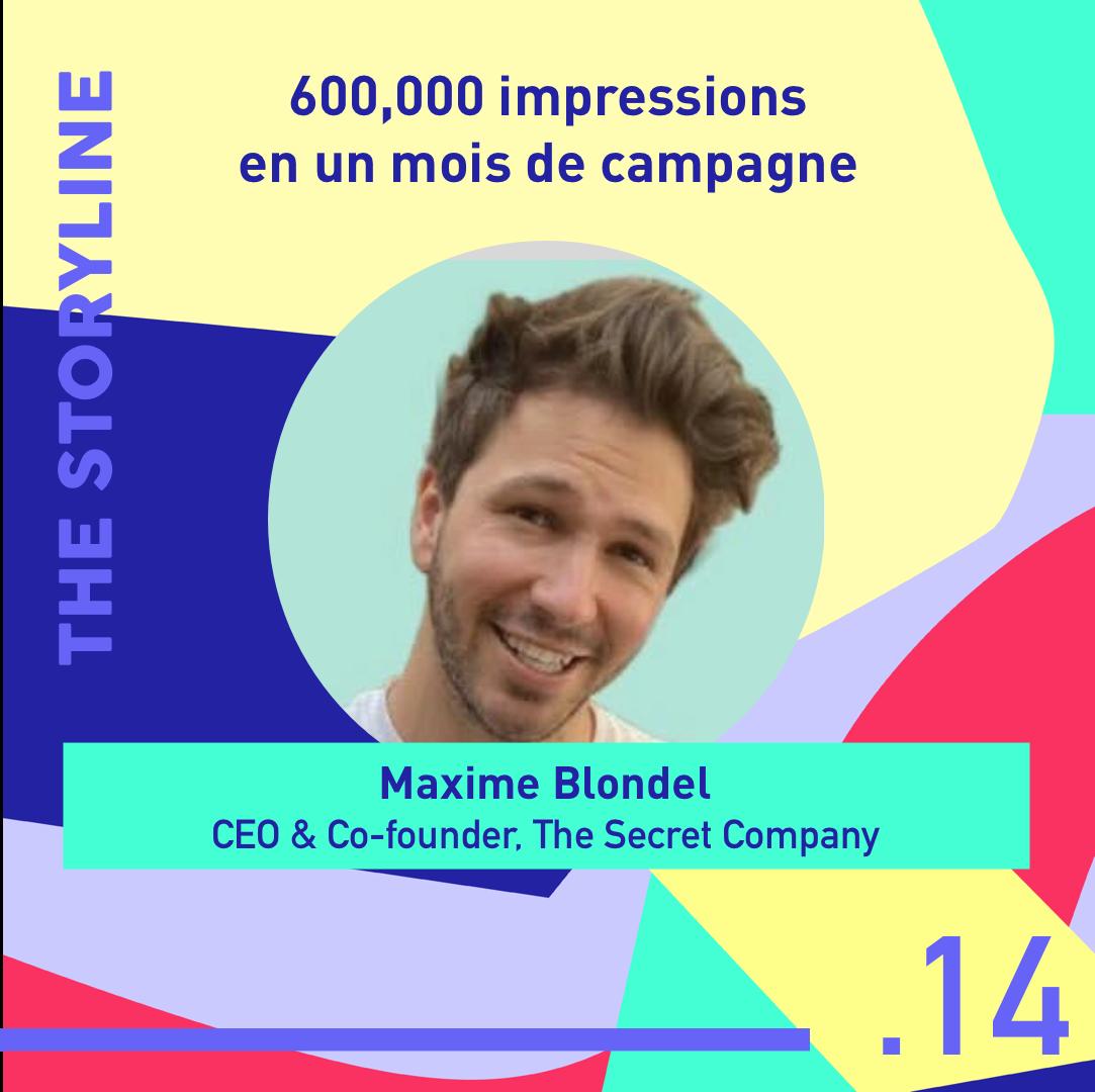 #14 - 600,000 impressions en 1 mois de campagne